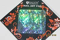 Фольга для литья и дизайна ногтей в листе . Новый год   голография