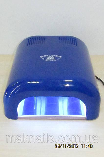УФ-лампа для наращивания ногтей GLOBAL  36 Ватт синяя