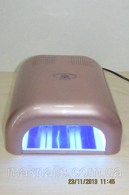 УФ лампа GLOBAL 36 Ватт .Бежевый  металлик.
