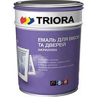 Эмаль для окон и дверей Triora 1 л (белая)