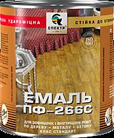 Эмаль Спектр ПФ-266С 0,9 л (красно-коричневая)