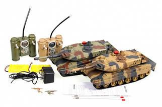 Набор танков 558, на радиоуправлении, на аккумуляторе, +звук, +свет, в наборе 2 шт.Танки 558 на р/у., фото 3