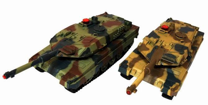 Набор танков 558, на радиоуправлении, на аккумуляторе, +звук, +свет, в наборе 2 шт.Танки 558 на р/у., фото 2