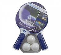 Набор для пинг-понга Donic Alltec Hobby outdoor 2-player set (2 ракетки+чехол+3 мяча) (788648)