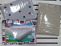 Простынь на резинке 180*200 ТЕП 100% хлопок, фото 1