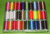 Нитки мулине ( шёлковые ) 30 шт 16057 , фото 1