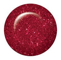Гель лак Salon Professional № 150 прозрачный с красными микроблестками