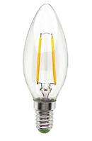 Светодиодная лампа свеча E14 Filament 4W