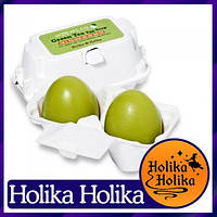 Green Tea Egg Soap Holika Holika Мыло с зеленым чаем