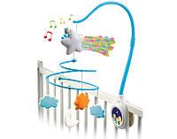 Smoby Музыкальный мобиль на кроватку голубой Cotoons 211381