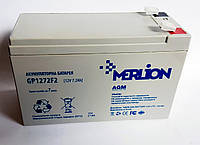 Батарея аккумуляторная Merlion GP1272F2 (12V 7,2A)