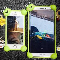 """Универсальный Силиконовый Бампер для Телефонов от 4"""" до 5.5"""" Яркий Мягкий Защитный"""