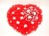 """Сердце из конфет """"С любовью"""""""