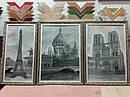 Бисерная заготовка ТМ-017. Триптих из трех частей. Триптих 'Город влюбленных' (черно-белый), фото 2