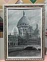 Бисерная заготовка ТМ-014. Первая часть триптиха. Самая красивая Базилика Франции (черно-белая) , фото 2