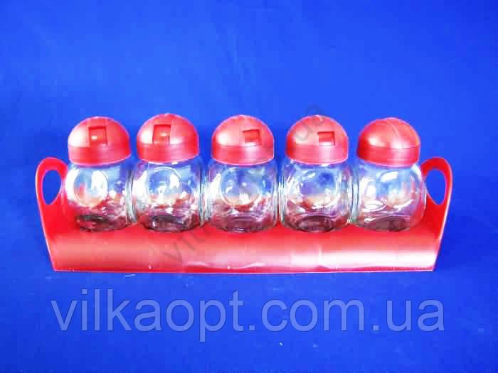 Набор банок 5 х 225 ml на подставке