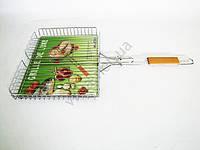 Барбекю №511 с деревянной ручкой  высокое