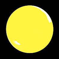 Гель-лак для  ногтей № 227 SALON PROFESSIONAL  (CША ) ярко желтый эмаль
