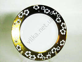 Блюдо №10,5  Золотой цветок  26 см.