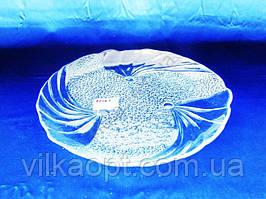 Блюдо стеклянное Папийон d 32 cm