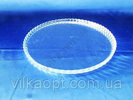 Блюдо стеклянное Патиссерия d 28 cm