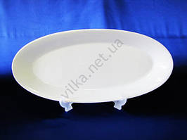 Блюдо для рыбы керамическое белое 56 х 24,5 cm.