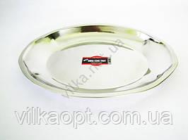 Блюдо глубокое нержавейка L 39 cm w 30 cm
