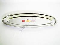 Блюдо для рыбы нержавейка L 50 cm w 20 cm