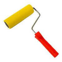 Валик для обоев прижимной резиновый - 6/150 (с ручкой)