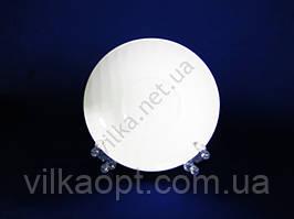 Блюдце отдельное белое d 15 см. (12 шт. в уп.)