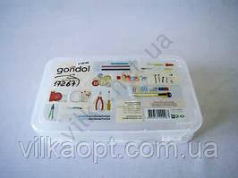 Бокс Hobby для мелочей GONDOL-96, 21cm x 12,5cm, h 4,5cm.