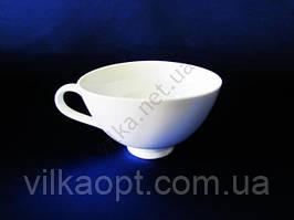 Чашка для бульона керамическая белая 350 мл.  6 в упаковке