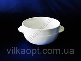 Чашка для бульона керамическая белая 700 мл.