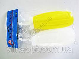 Набор бутылок пластмассовых из 2-х 13974 - 13 см.