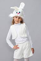 """Детский карнавальный костюм """"Зайчик Белый"""""""