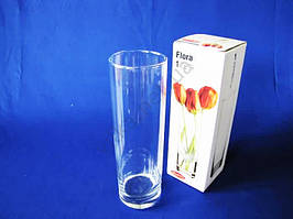 Ваза  Флора  цилиндр  26 см.