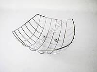Фруктовница нержавейка проволока 16307 - д. 24,5 см. выс. 10 см.