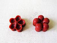 Вайнер кондитерский Цветок клевера - 4 см.