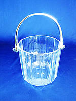Ведро пластмассовое для льда выс. 11,5 см. д. 11,5 см.