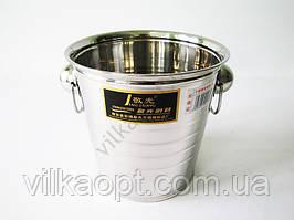 Ведро нержавеющее для шампанского 19 х 19 см.