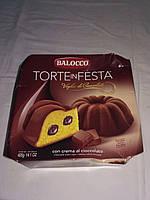 Тортик  Панеттоне Balocco Torte in Festa Choccolato,Италия,400 г