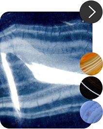 Бусы из агата (цвета: разные)
