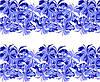 Фото-дизайн 15  Синие цветы
