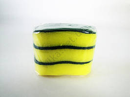 Губка в наборе из трех Нокта, 11,5cm x 6,5cm (3шт. в упаковке)