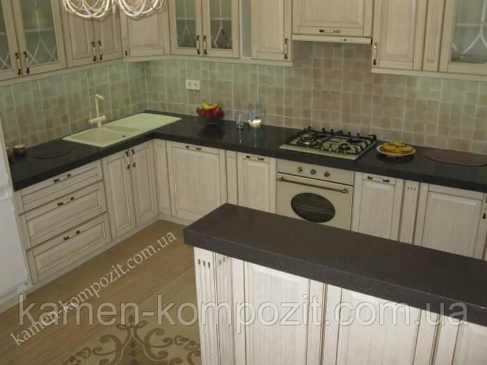 Столешницы для кухни из искусственного литьевого камня, фото 1