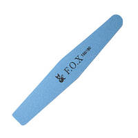 Баф  F.O.X  Х 180/180 (голубой) для натуральных ногтей