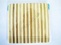 Доска деревянная с полосками 17,5 х 17,5 х 0,9