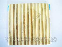 Дошка дерев'яна з смужками 17,5 х 17,5 х 0,9