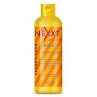 Шампунь серебристый для светлых и осветленных волос NEXXT CILVER SHAMPOO, 250/1000мл
