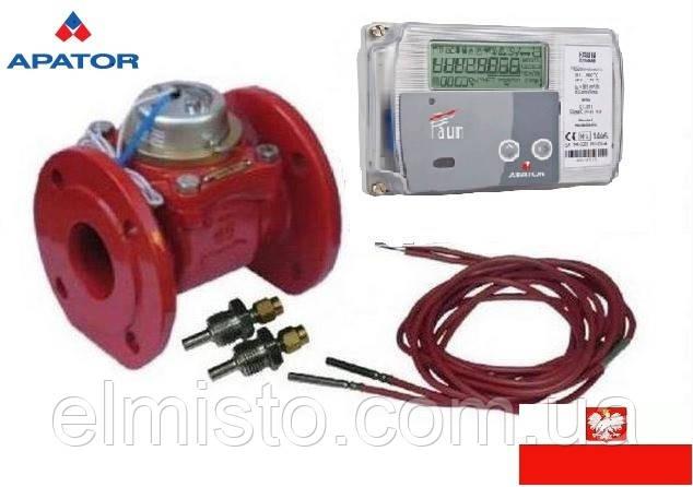 Счетчик тепла (теплосчетчик, тепломер) Apator LQM-III-FAUN-60 DN-100 механический фланцевый
